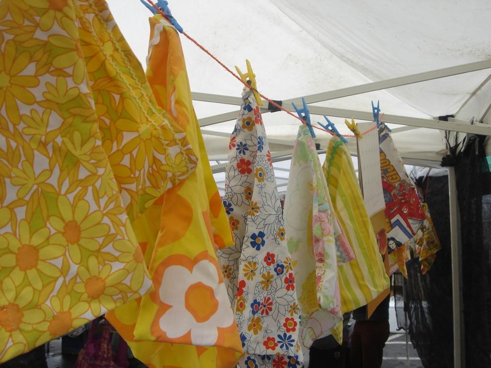 Temescal Farmer's Market - Handmade Produce Bags.