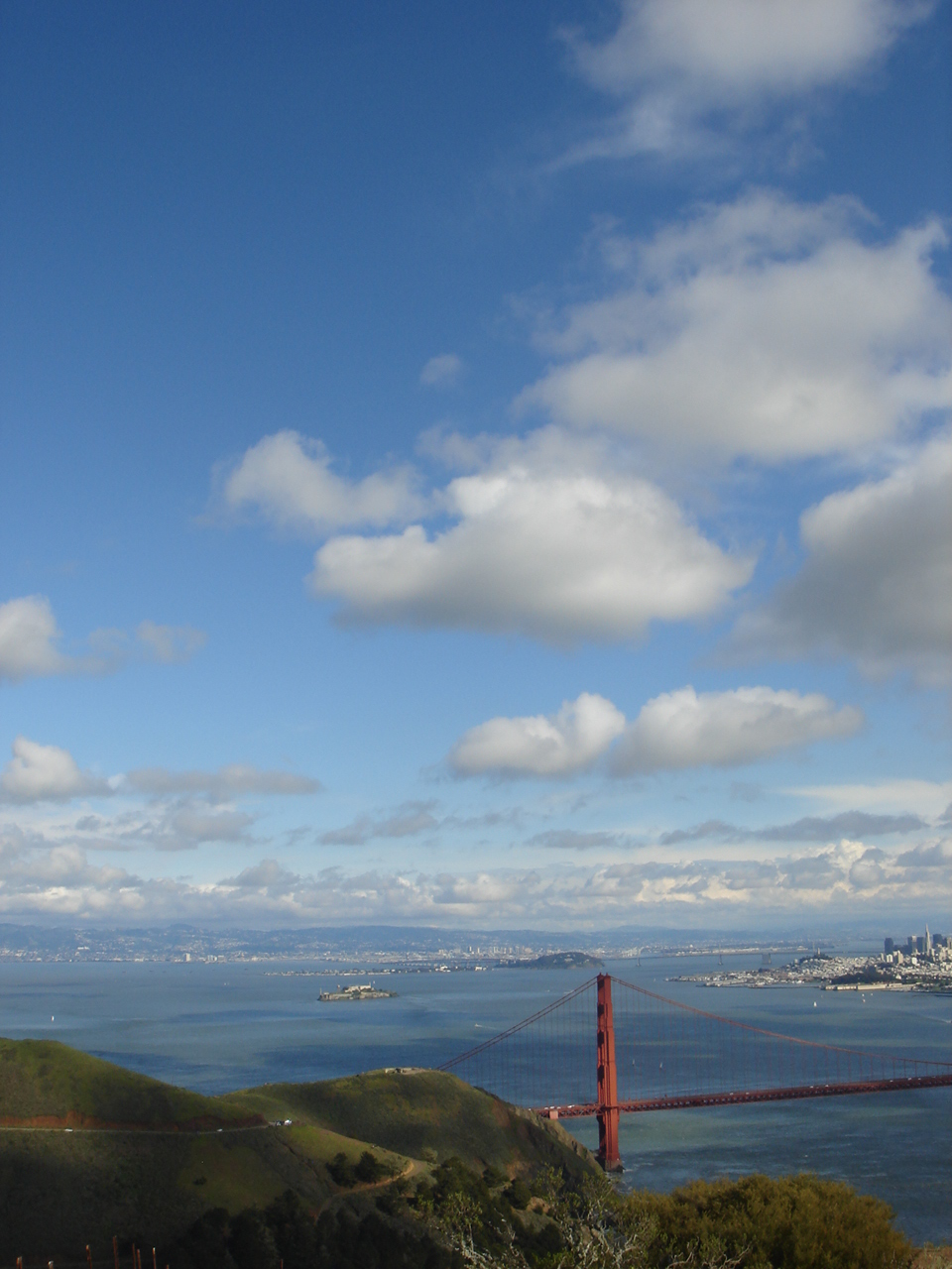 View from Hawk Hill, Marin Headlands.